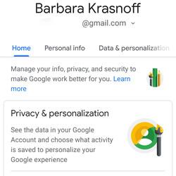 "<em>Select ""Manage your data & personalization.""</em>"