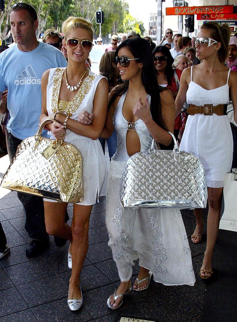 Image result for Paris Hilton, Kim Kardashian