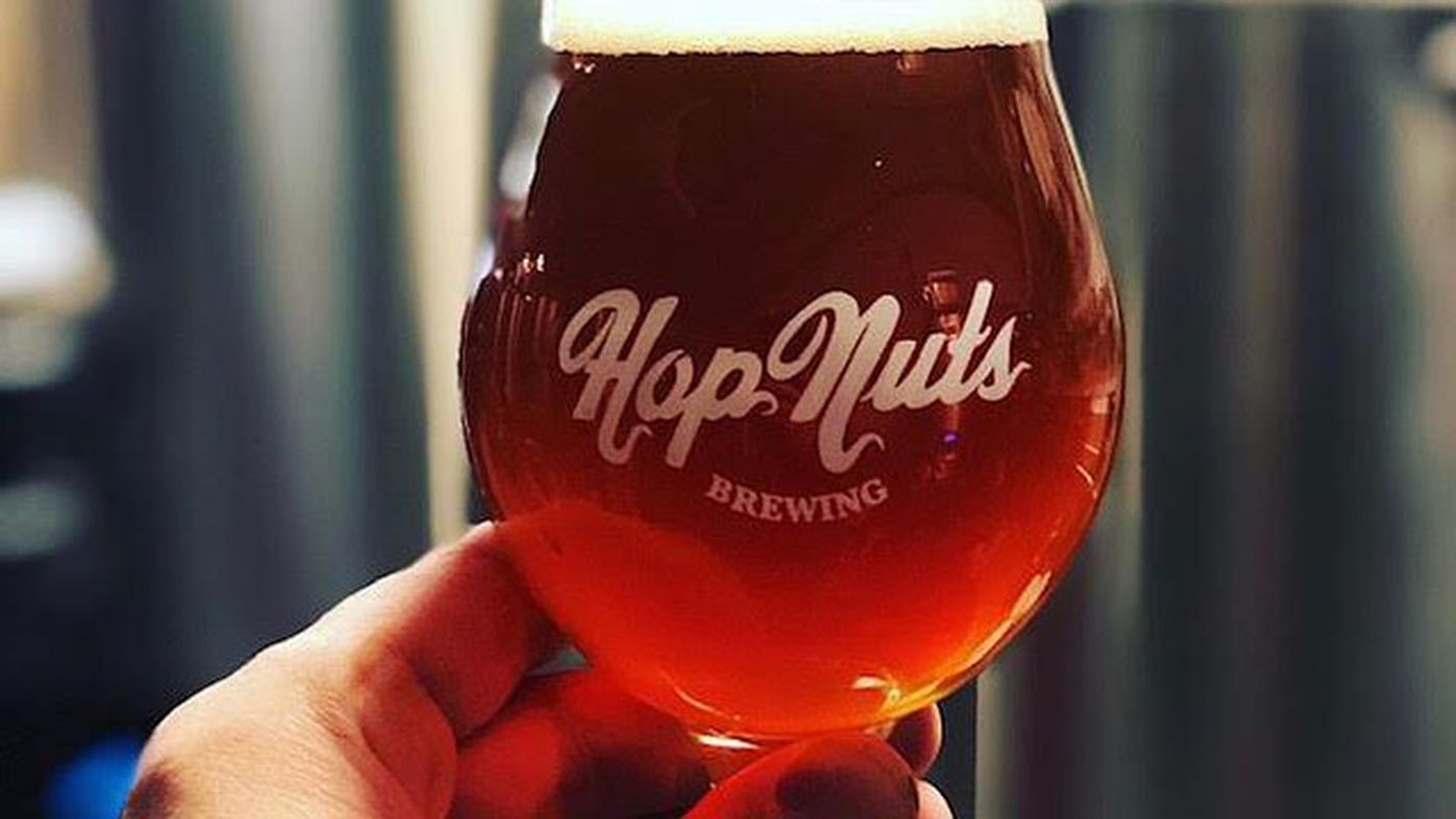 Hop Nuts Brewing opens its Tivoli Village taproom - Eater Vegas