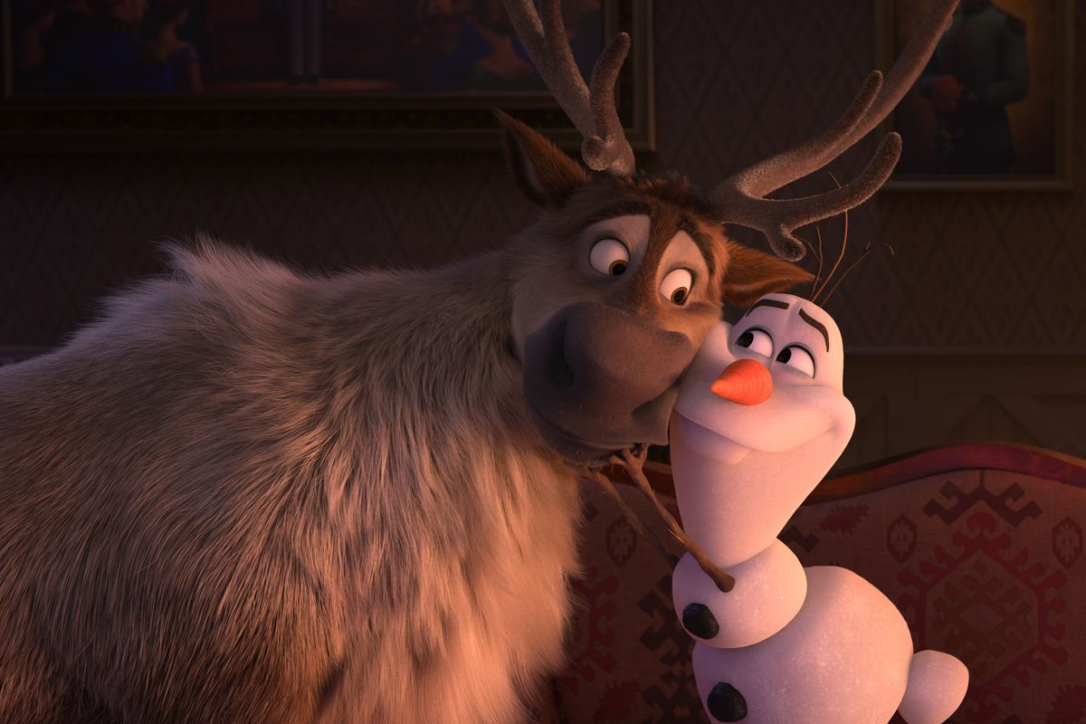 Gagged Animation frozen 2 post-credits scene has creepy implications - polygon