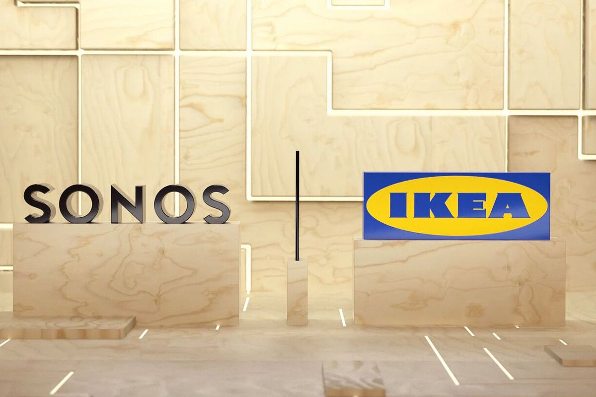 Sonos and Ikea Tease Collaboration