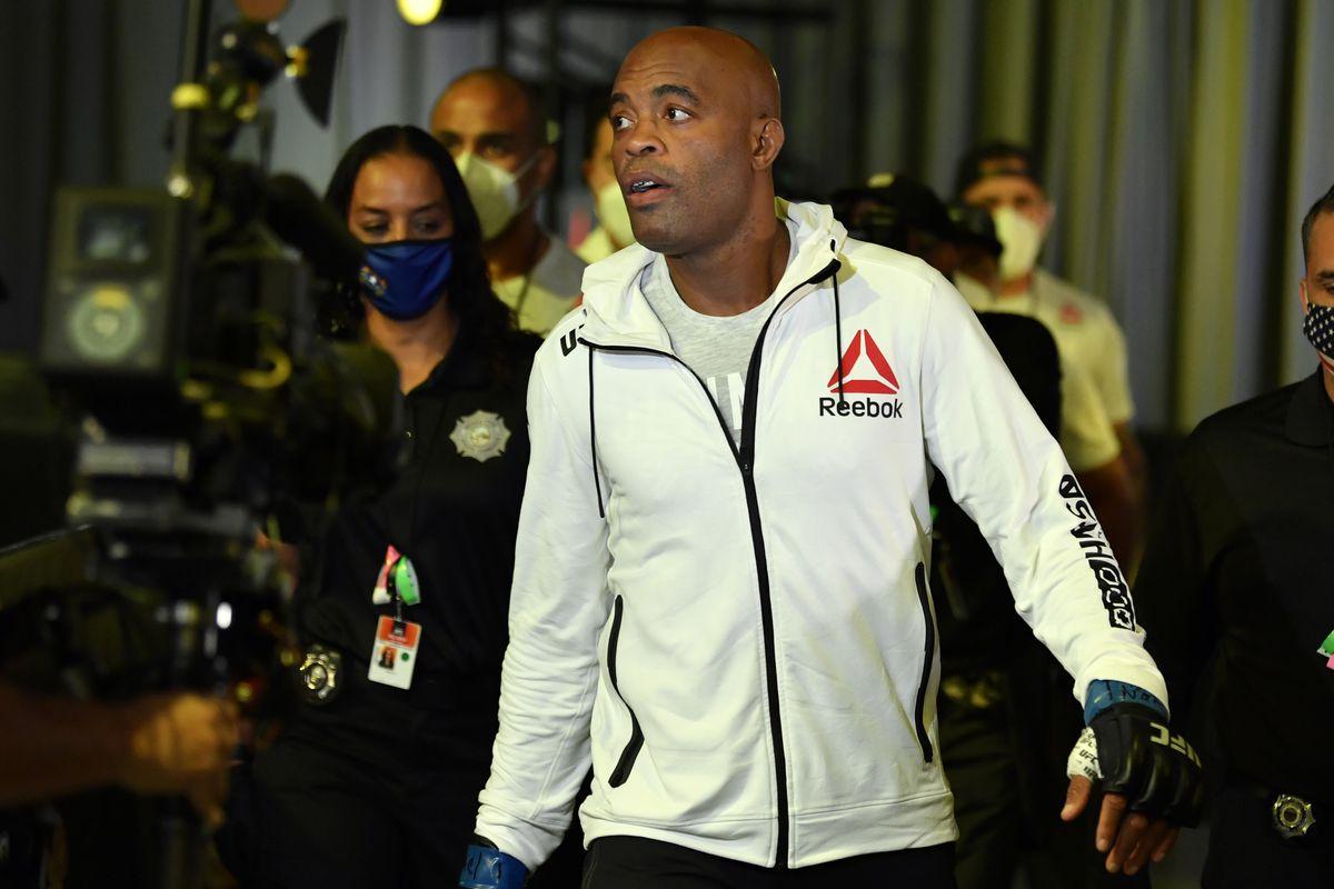 UFC Fight Night: Hall v Anderson Silva