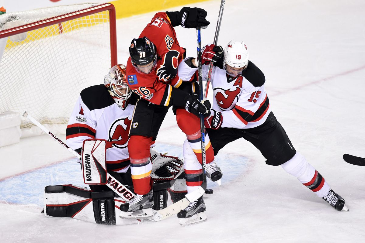 fb54bb3d8 Gamethread  52  New Jersey Devils vs. Calgary Flames - All About The ...