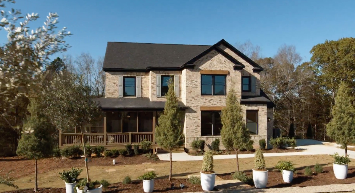 """The exterior of the home designed by Nate Berkus and Jeremiah Brent of """"Nate and Jeremiah: Save My House"""""""