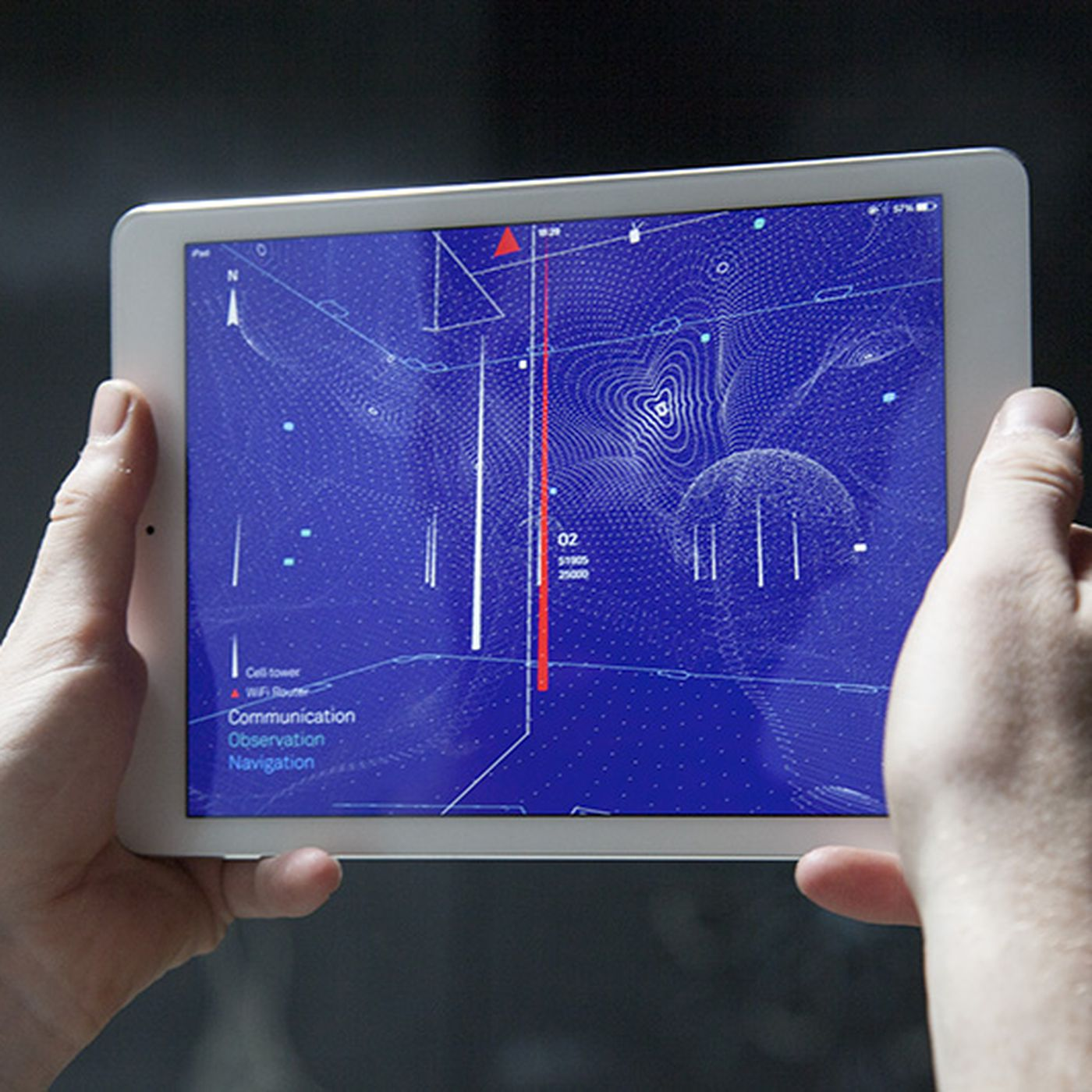 See the invisible wireless signals around you with this augmented