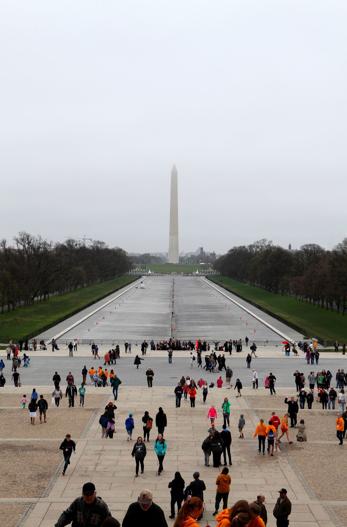 The view from the Lincoln Monument on the National Mall, Washington, DC. Raymond Boyd / Michael Ochs Archives