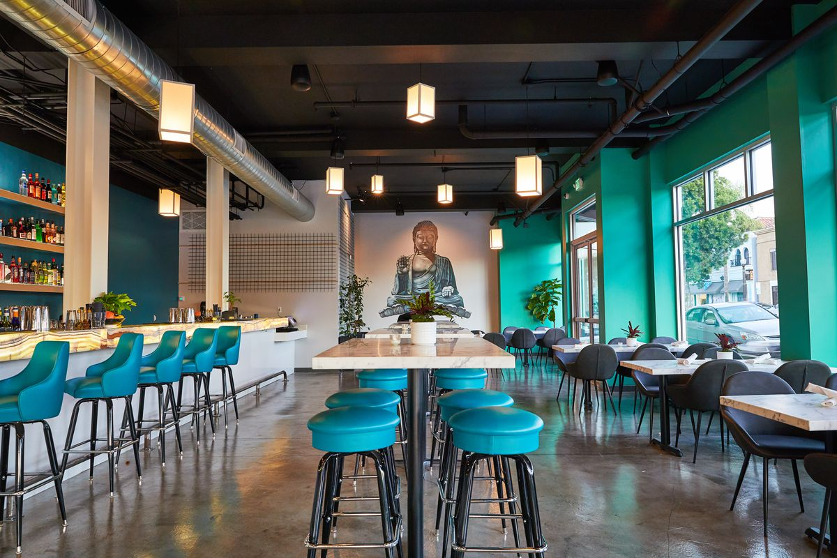 Cocktail Bar And Rooftop Restaurant Add Asian Flavors To