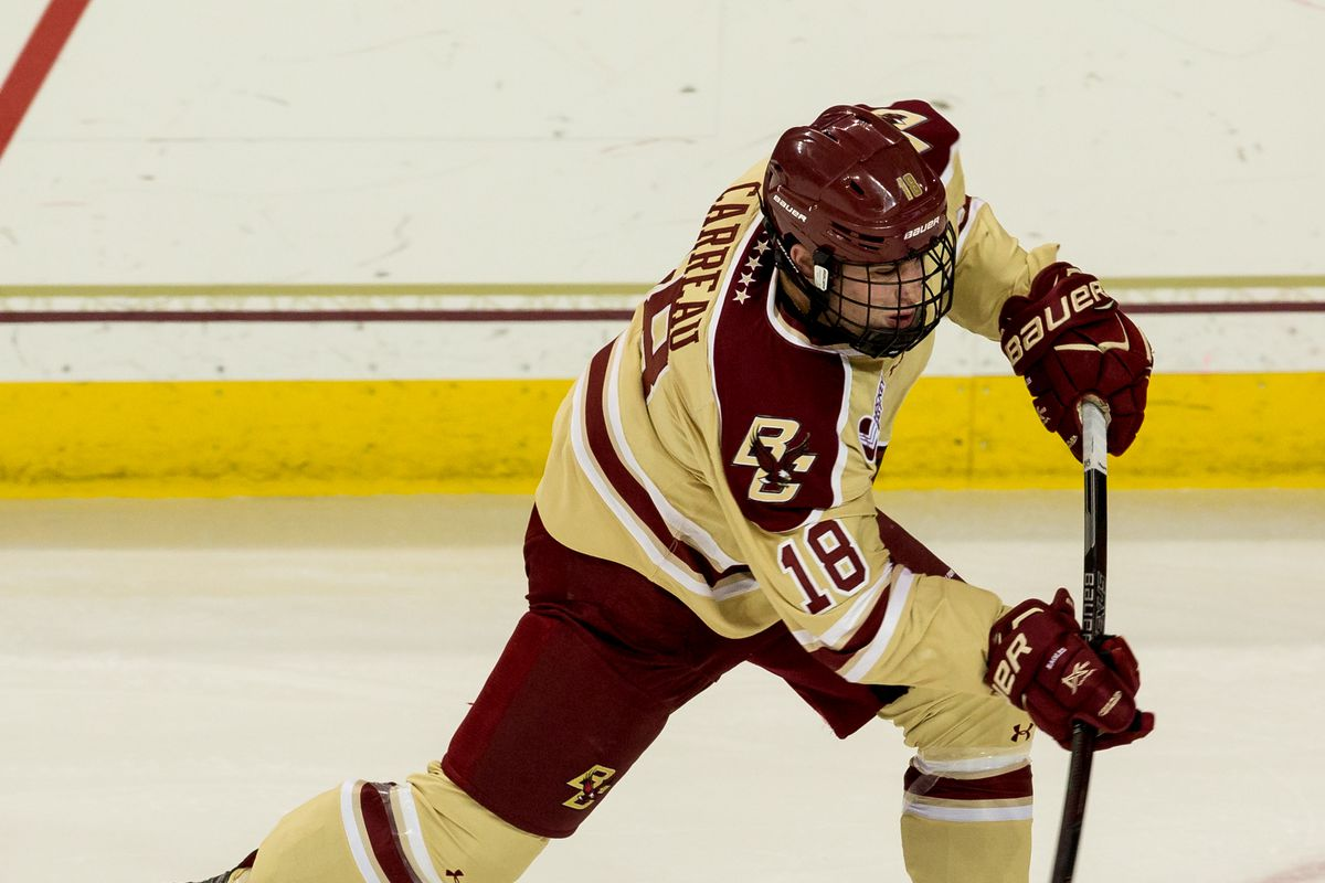 Meet The Eagles, Boston College Men's Hockey: Casey Carreau