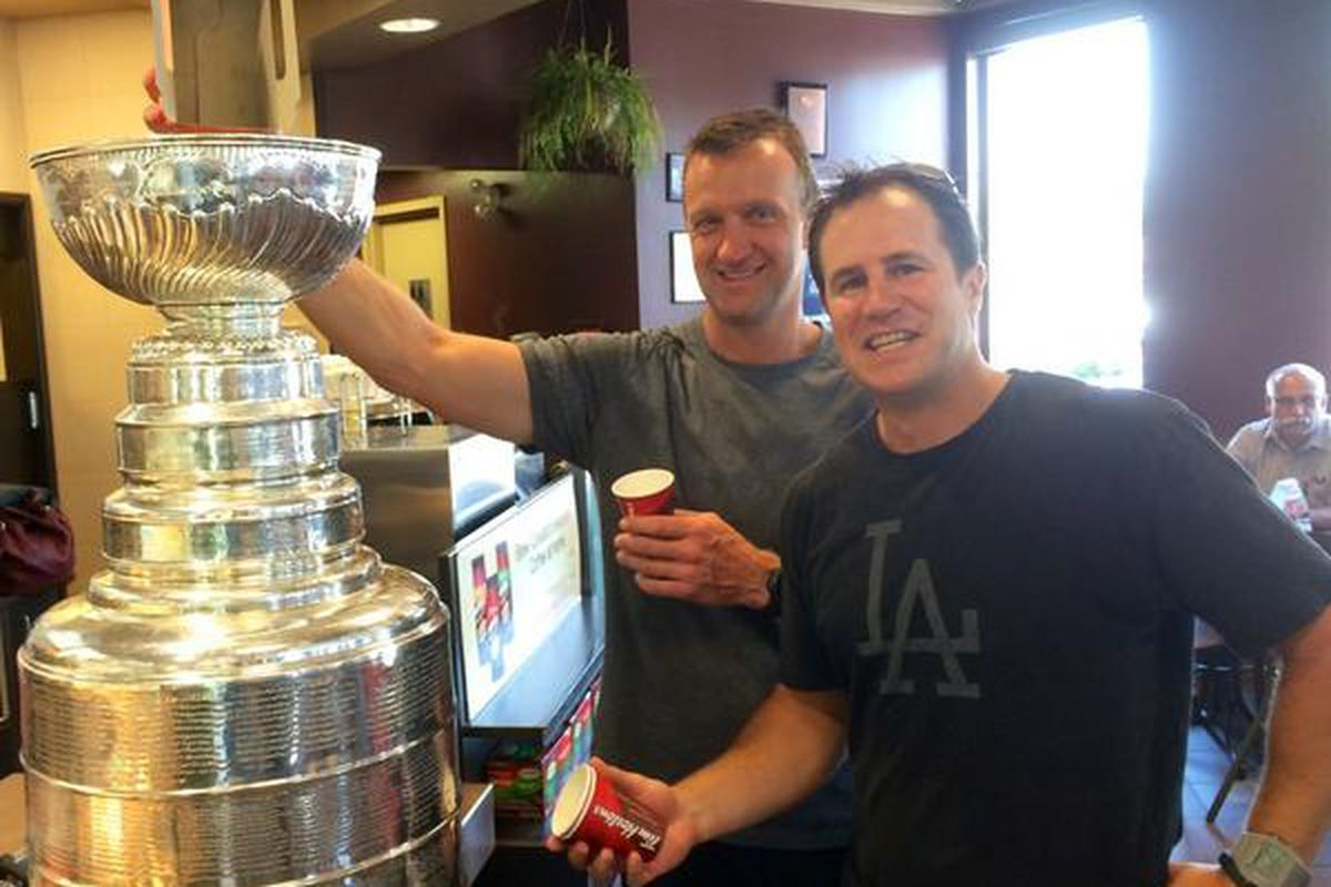 Tim Horton's - Best served out of the Stanley Cup