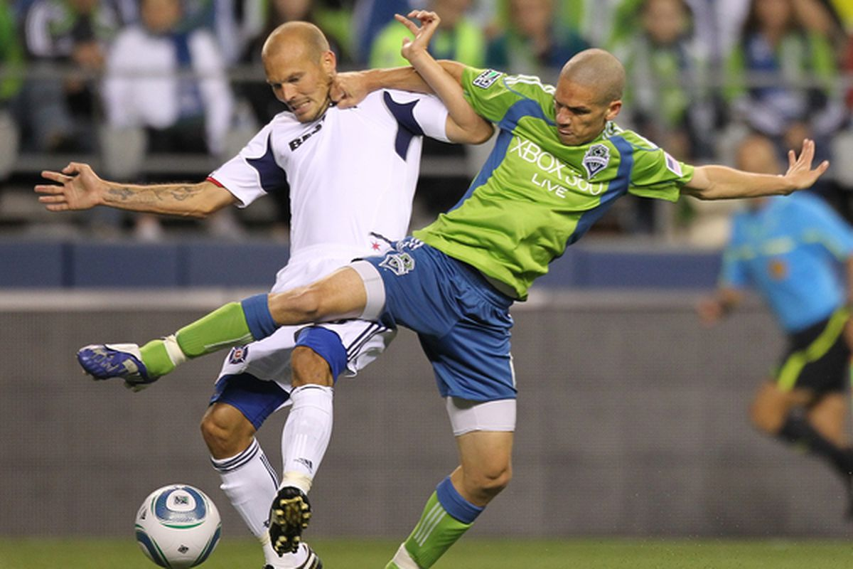 Osvaldo Alonso, voted the team's most important player by teammates and supporters alike after 2010, figures to be the key man in the defense as the Sounders pursue bigger and better silverware in 2011