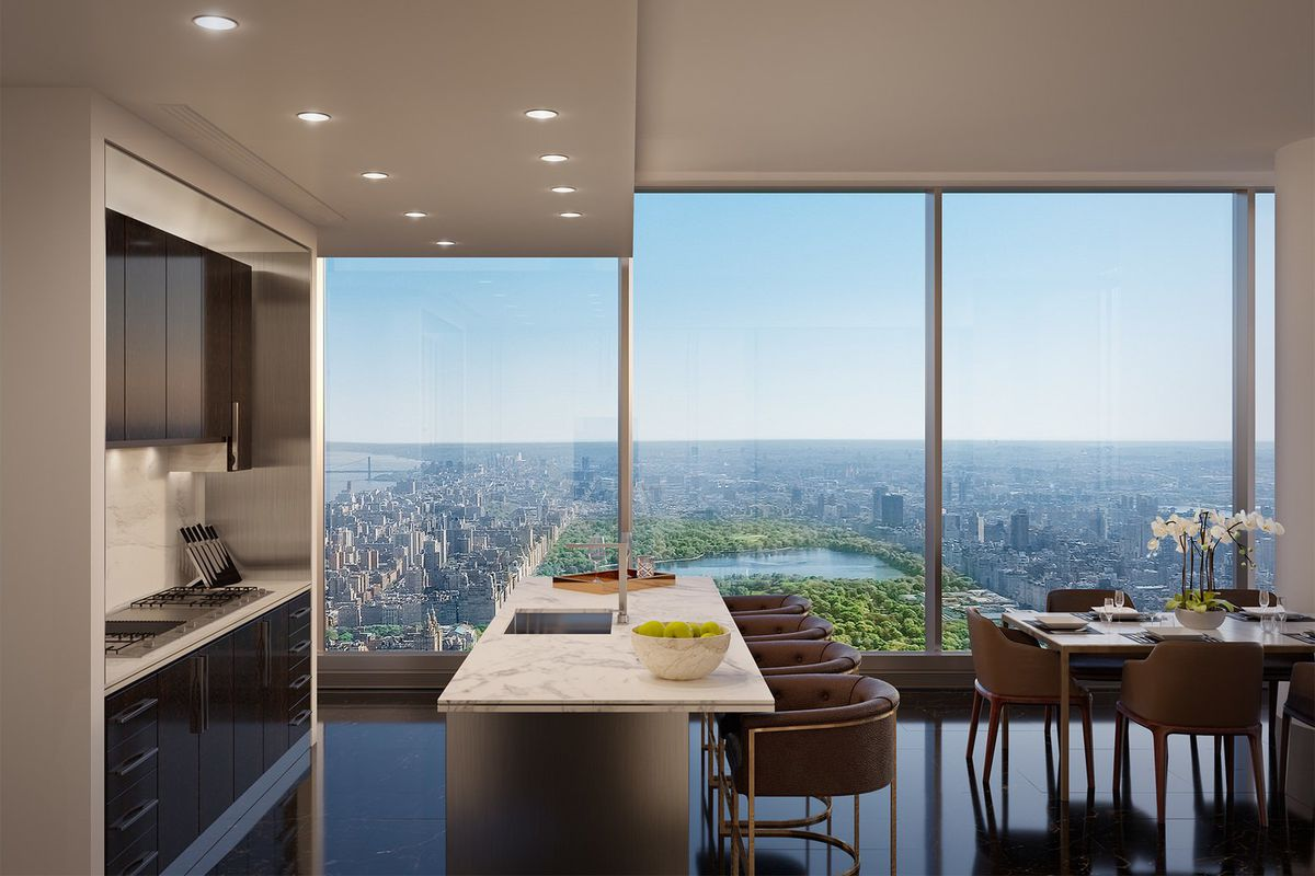 Sales at Central Park Tower are 'decent' says Extell ...