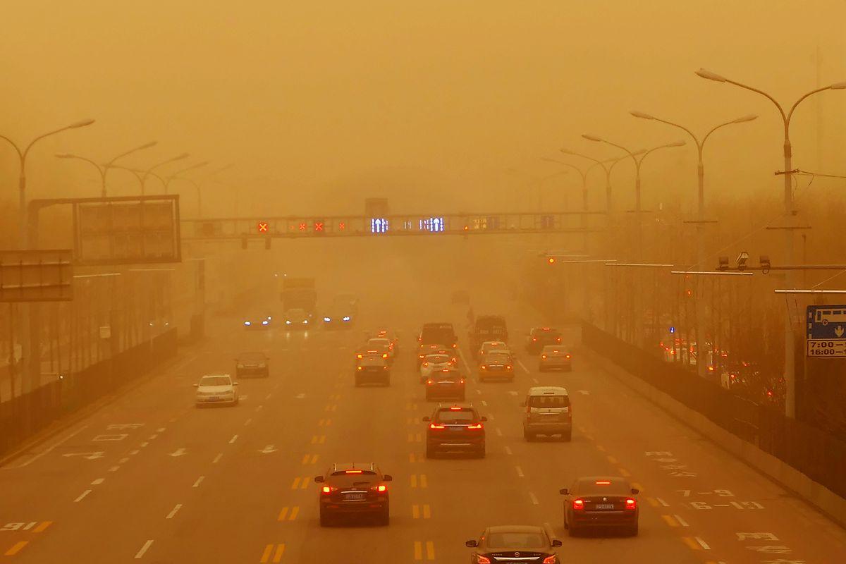 Αμμοθύελλα στο Πεκίνο