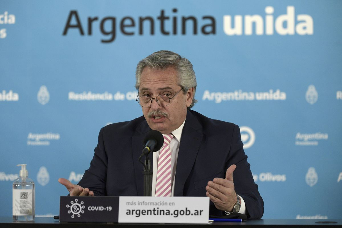 Alberto Fernandez Announces Argentina Will Produce Oxford Coronavirus Vaccine