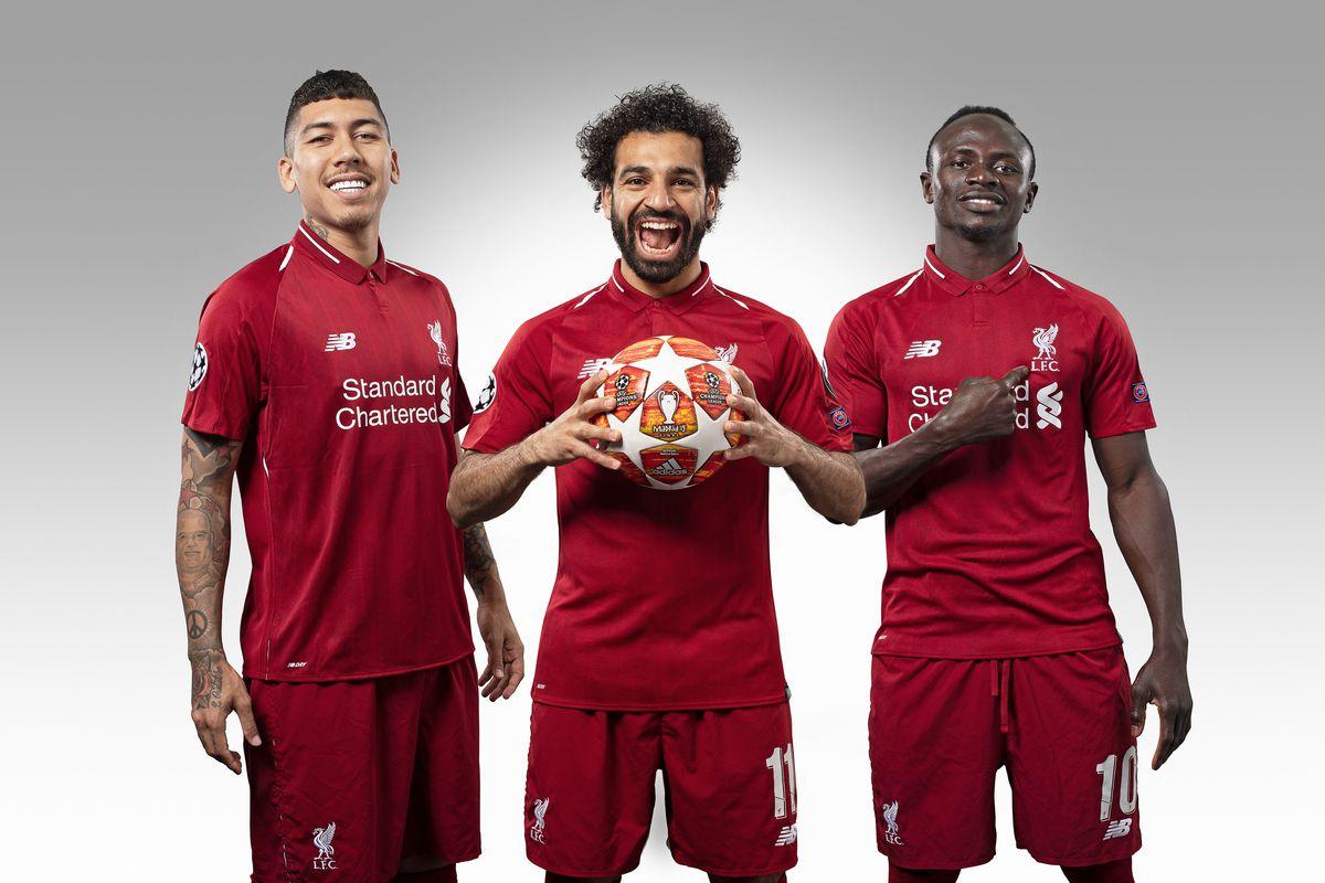 Liverpool FC Portrait Shoot - UEFA Champions League Final Preview