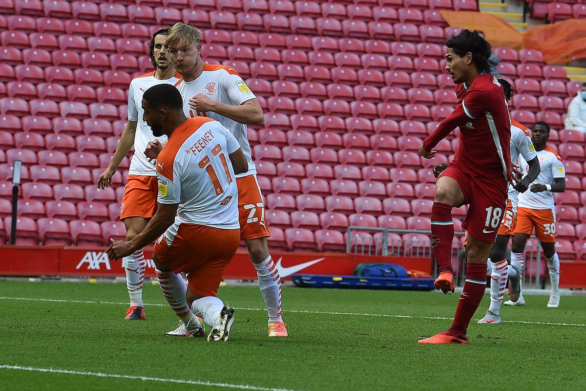 Liverpool v Blackpool - Pre-Season Friendly