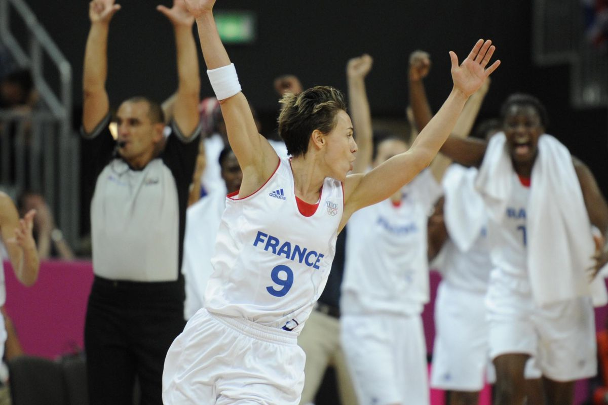 If France hopes to challenge the USA women's basketball team, they'll need to get hot from the beyond the arc and get another spectacular performance from point guard Celina Dumerc. <em>Photo by Richard Mackson-USA TODAY Sports.</em>