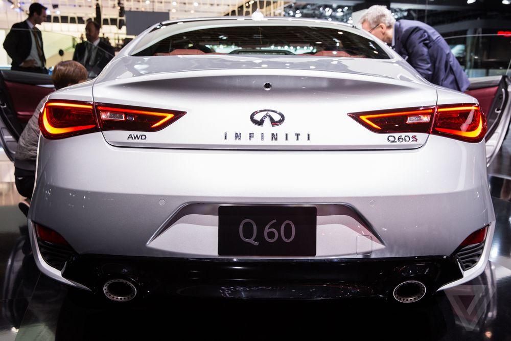 Infiniti Q60 Coupe At The Detroit Auto Show