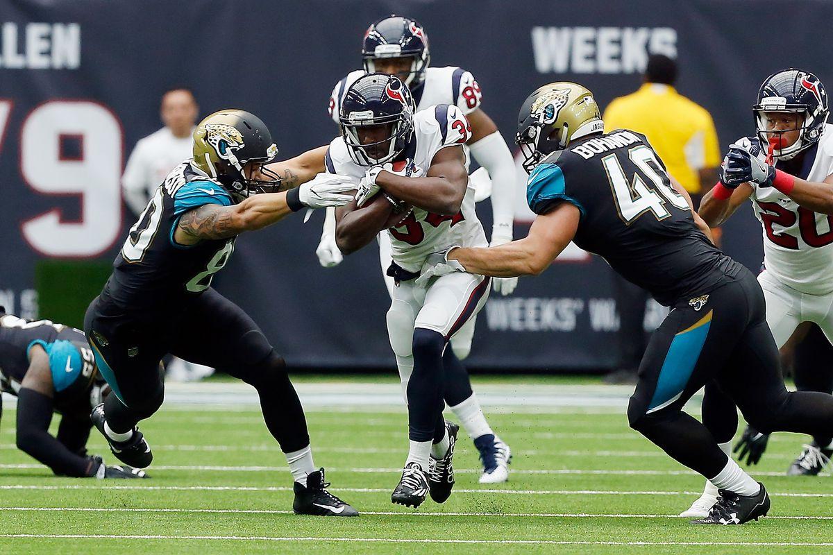Jacksonville Jaguars v Houston Texan