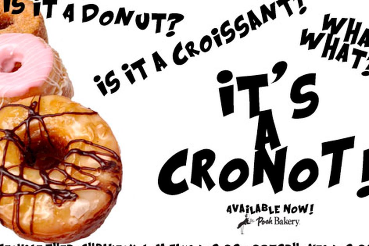Cronots, cronots, cronots.