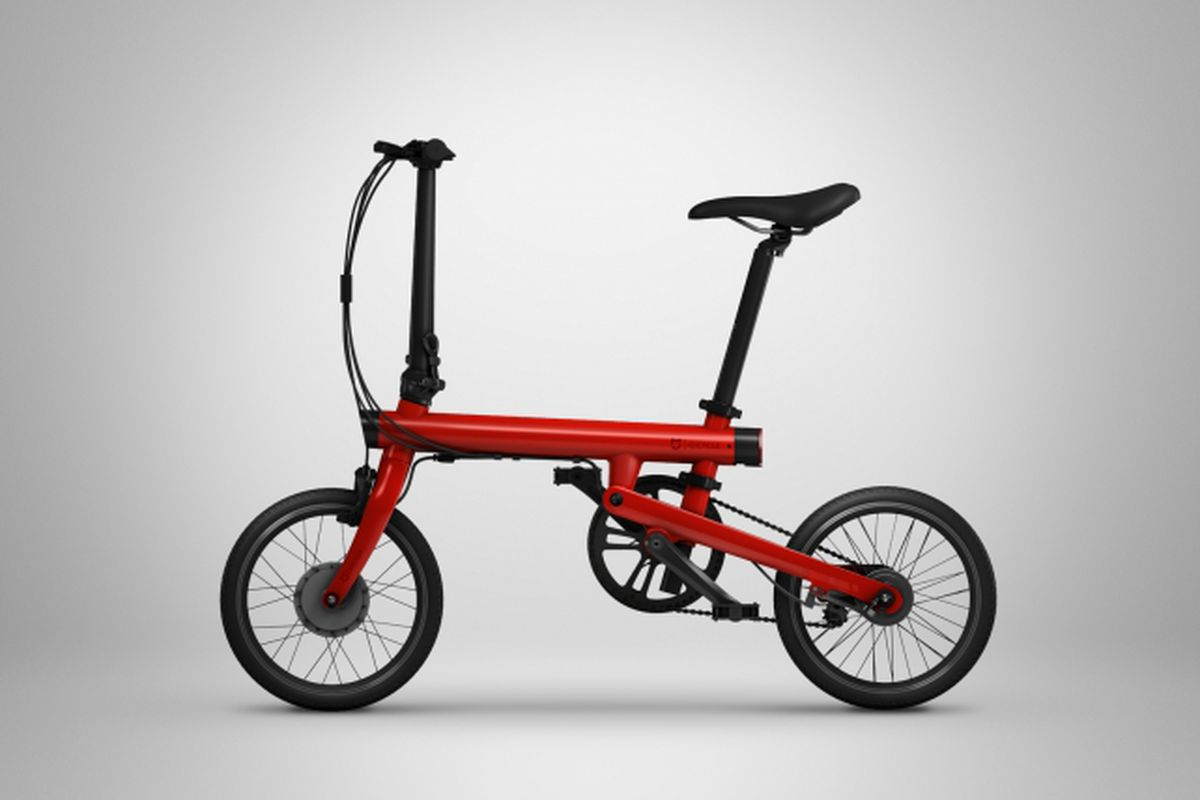 ef113e39448 Xiaomi's cheap, foldable electric bike looks perfect for city commutes