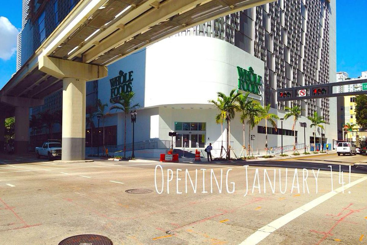 """Photo: Whole Foods Downtown Miami/<a href=""""https://www.facebook.com/wholefoodsmarketdowntownmiami"""">Facebook</a>"""