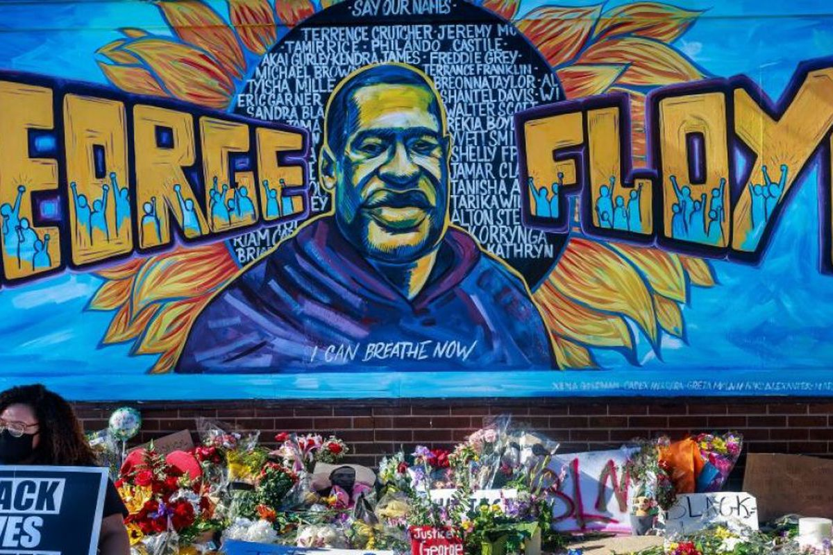 George Floyd memorial