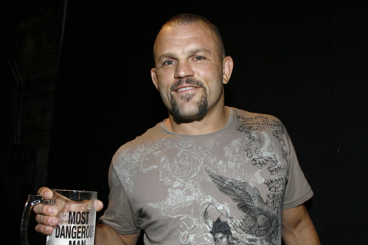 Chuck Liddell - First Annual Spike TV's Guys Choice - Backstage and Audience