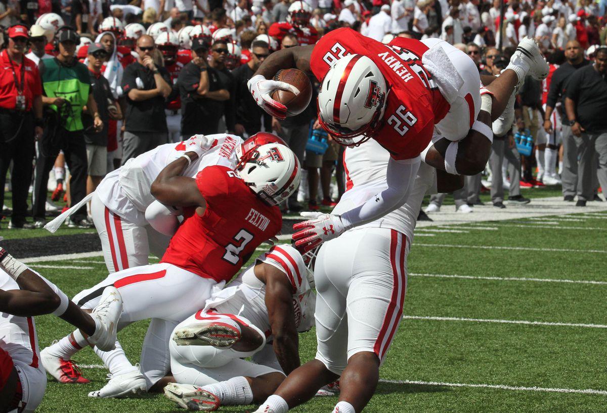 NCAA Football: Houston at Texas Tech