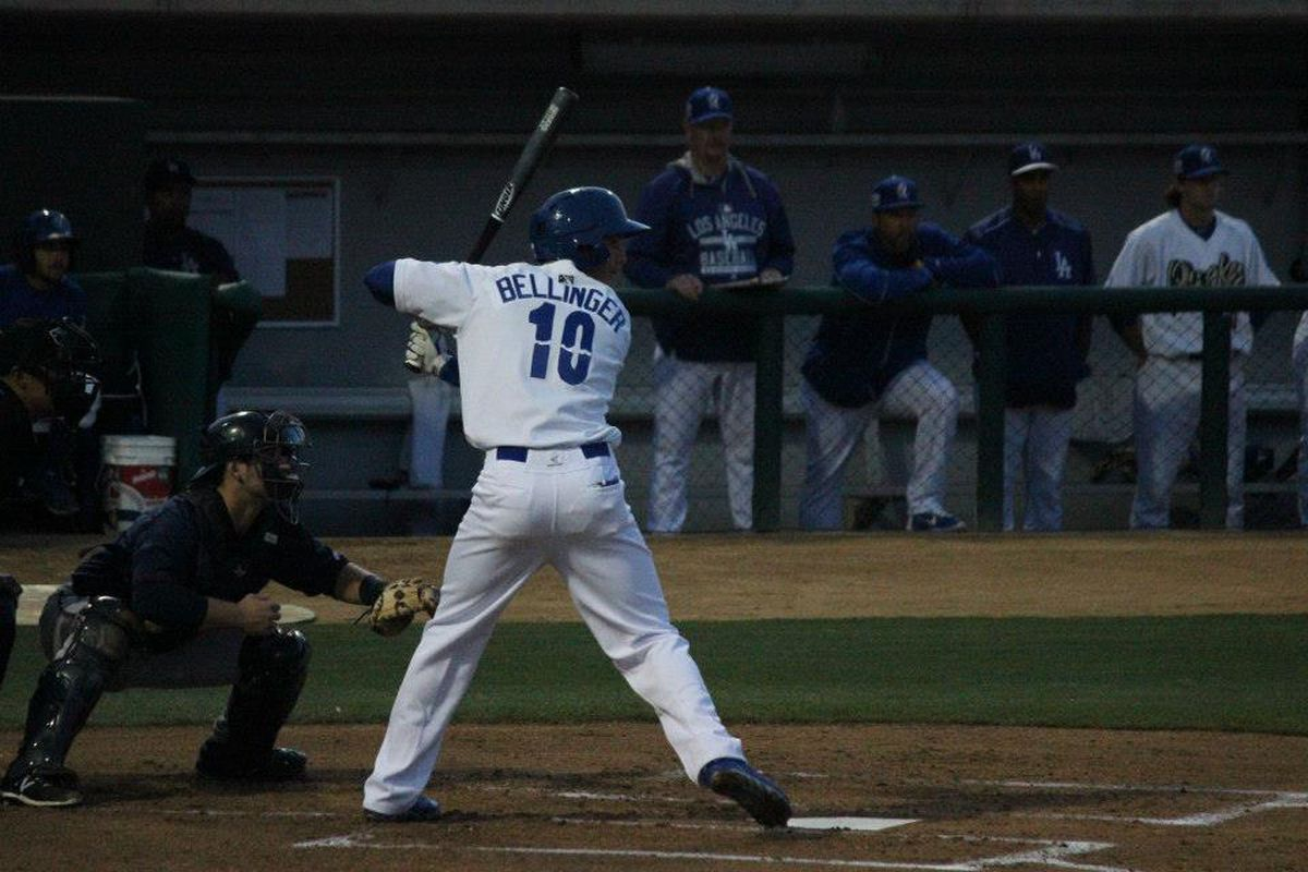 Cody Bellinger led Dodgers minor leaguers in 2015 with 30 home runs and 103 RBI.
