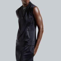 Studio dress, $148; sports bra, $64
