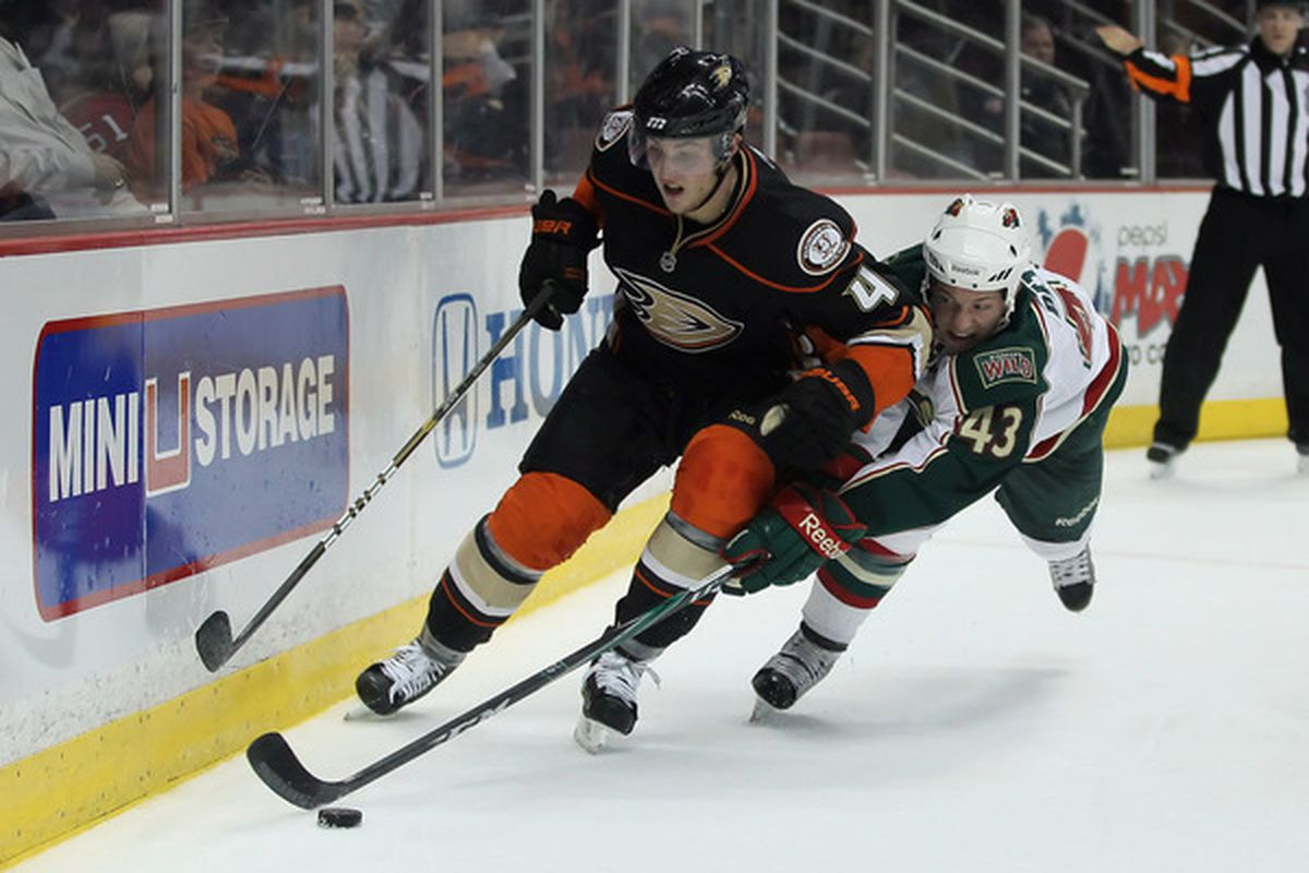Hey look! There he is! EVERYONE LOOK! Yeah, that's Cam Fowler.