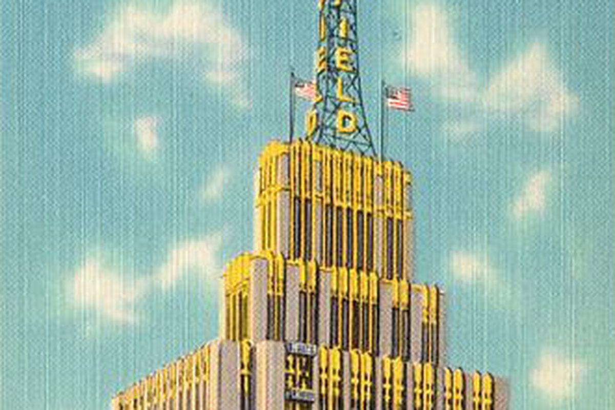 Postcard of Richfield Building