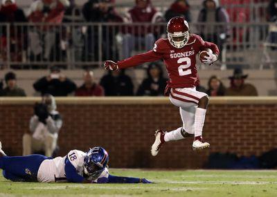 NCAA Football: Kansas at Oklahoma