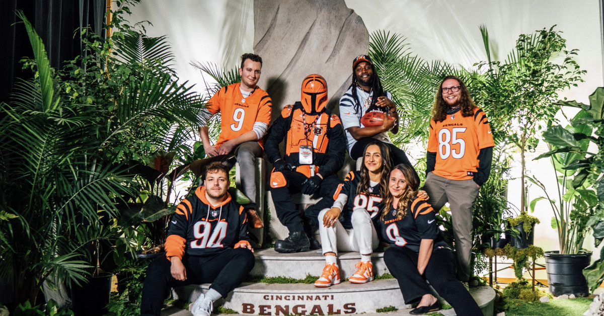 How 6 Bengals fans got a behind the scenes look at the new uniforms