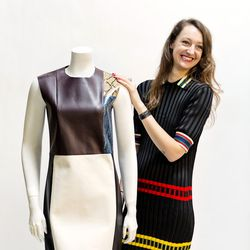 <b>Leslie Armstrong</b>, Product Receiving Manager, wearing a Céline dress, Golden Goose sneakers, Hermès bracelet, Surface to Air, In God We Trust and various vintage rings<br><br> <b>Your closet is on fire! What three items do you save from the flames?