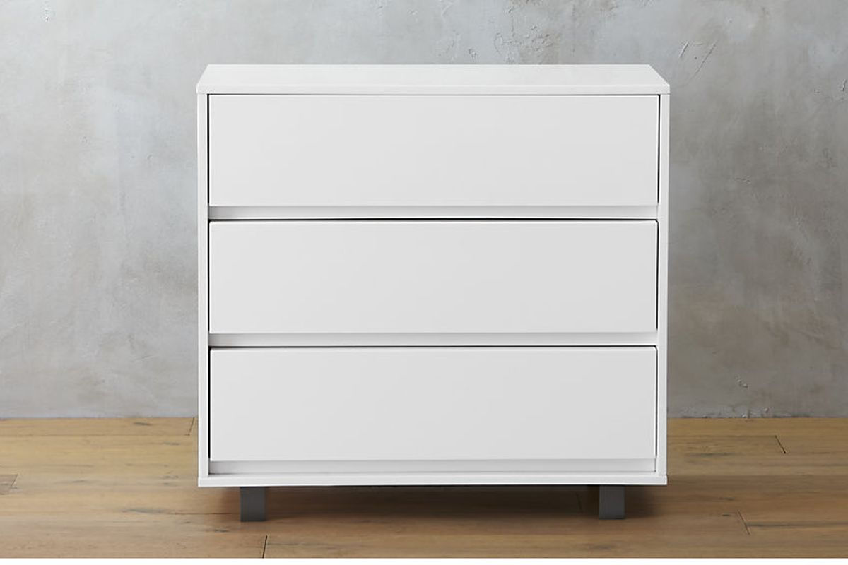 Shop White Chest   429  CB2. Ikea Malm dresser alternatives  7 fab styles to shop now   Curbed
