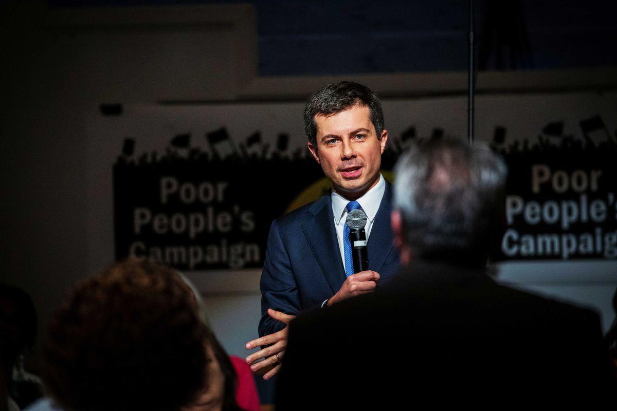 Democratic presidential candidate Pete Buttigieg.