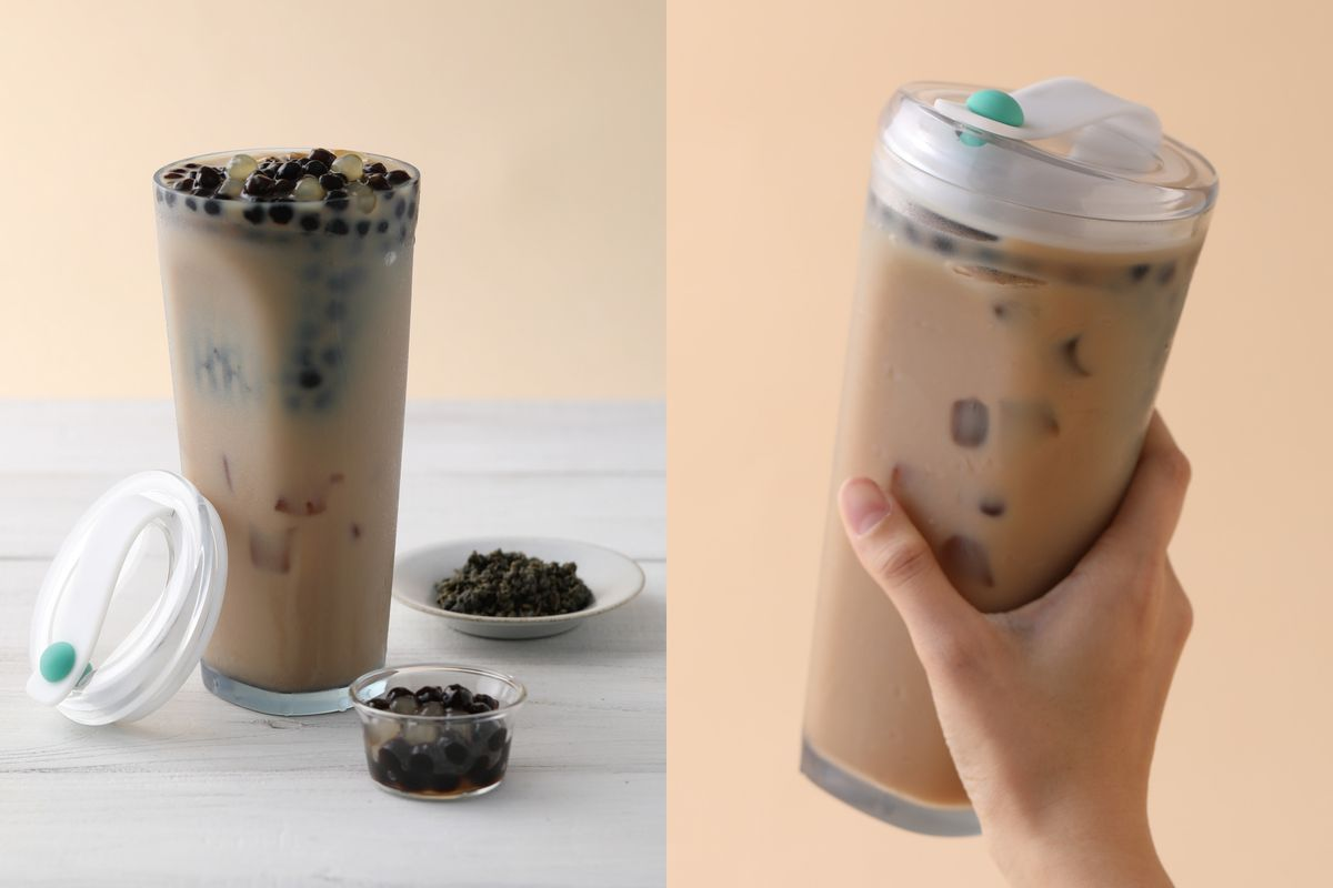Strawless Bubble Tea Cup Just In Time For Taiwans Sweeping
