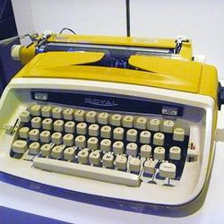 This USB typewriter hooks up to your laptop, which is cool, but is it really worth $699? Only you can judge.
