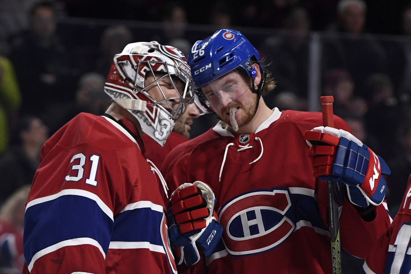 Where Montreal Canadiens players and personnel finished in NHL Awards voting