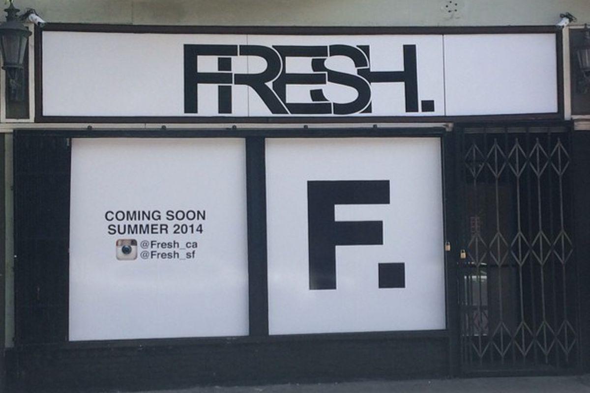 """Photo via Fresh/<a href=""""http://instagram.com/fresh_sf"""">Instagram</a>"""