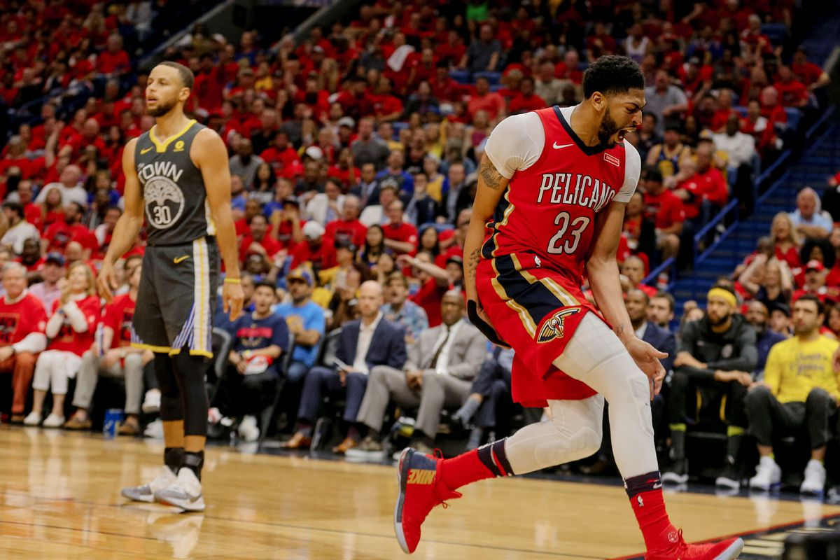 4a2bf25e0e53 2018 NBA Playoffs  New Orleans Pelicans return home and trounce Golden  State Warriors