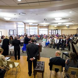 World Spiritual Health Organization holds their combined board certification and chaplain graduation ceremony at the William E. Christofferson, Salt Lake Veterans Home on Wednesday, Aug. 2, 2017.