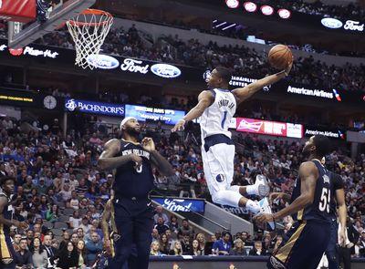 NBA: New Orleans Pelicans at Dallas Mavericks