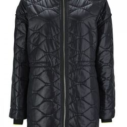 """T by Alexander Wang quilted nylon hooded jacket, <a href=""""http://www.shopbird.com/product.php?productid=30014&cat=645&manufacturerid=&page=1"""">$309</a> (was $625) at Bird"""
