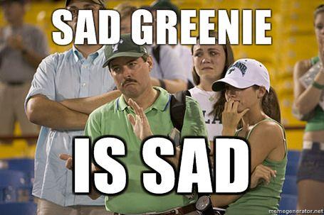 Sad Greenie