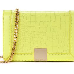 """<b>Ted Baker</b> Ruelles Mini Exotic Leather Clutch Bag, <a href=""""http://www.tedbaker-london.com/store/womens/mini-exotic-leather-clutch-bag-XBK3-XS4W-RUELLES-76.html"""">$215</a>"""