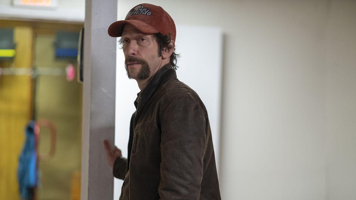 a man in a red cap