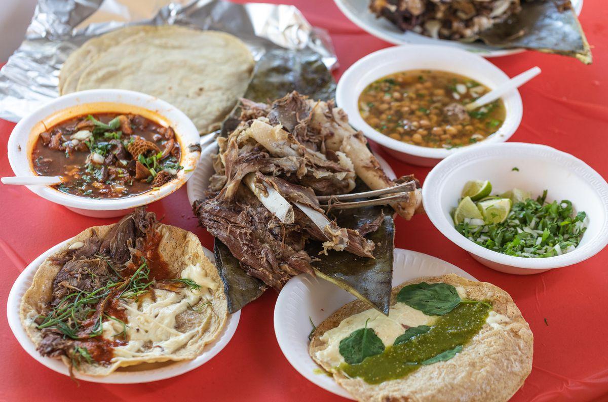 The spread at Barba Kush