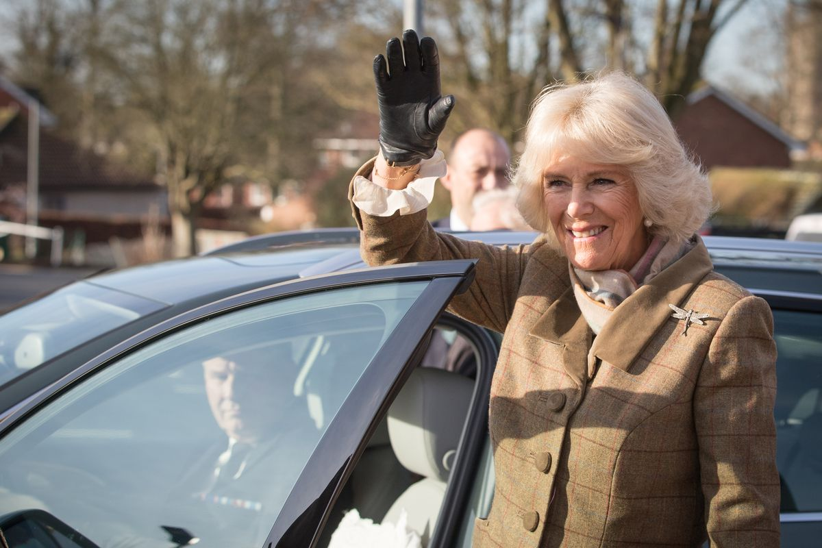 The Duchess Of Cornwall Visits Wiltshire